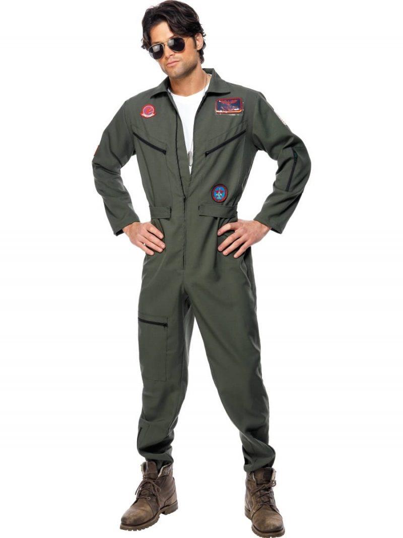 Top Gun Aviator Men's Fancy Dress Costume
