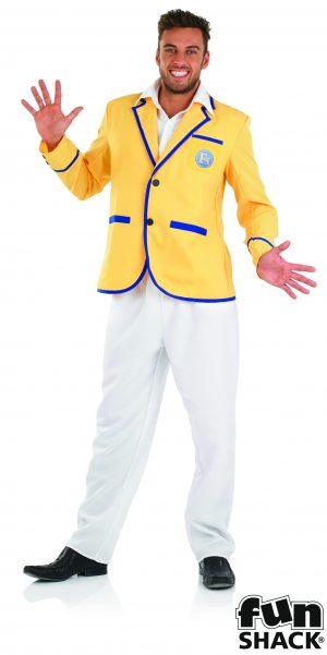 Holiday Camp Host (Hi-de-Hi) Men's Fancy Dress Costume