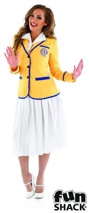 Holiday Camp Hostess (HI-DE-HI) Ladies Fancy Dress Costume