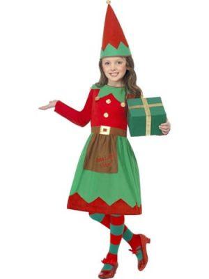 Santa's Little Helper Children's Christmas Fancy Dress Costume