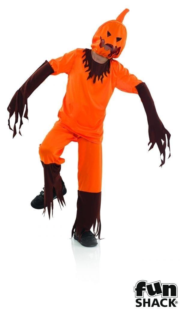 Scary Pumpkin Children's Halloween Fancy Dress Costume