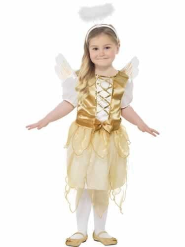 Angel Fairy Childrens Christmas Fancy Dress Costume