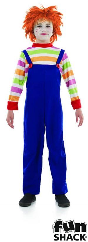Evil Dummy (Chucky) Childrens Halloween Fancy Dress Costume