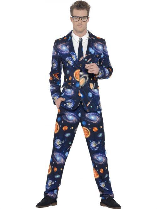 Space Standout Suit Men's Fancy Dress Costume