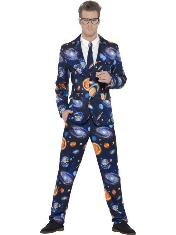 Space Standout Suit Men's Fancy Dress Costume
