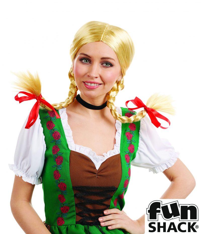 Bavarian Girl Wig