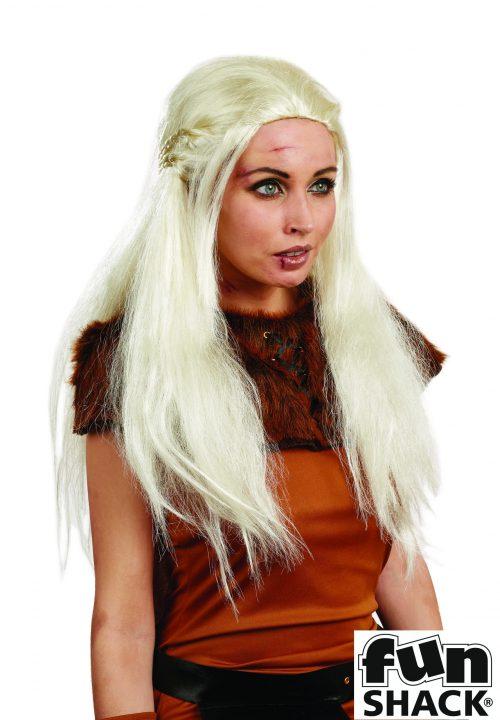 Blonde Medieval Wig