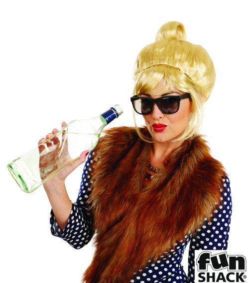 Blonde Beehive (Patsy) Wig