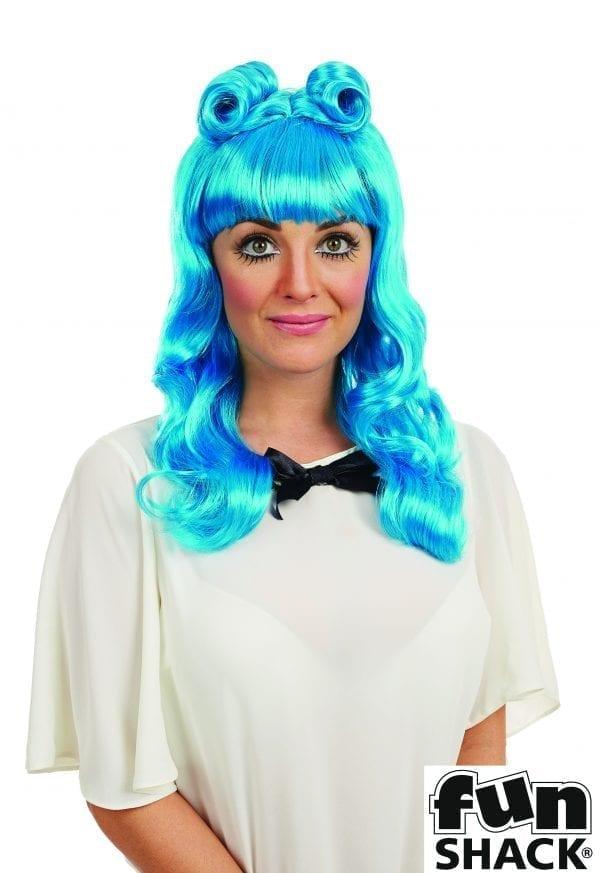 Cosplay (Katy) Wig Blue