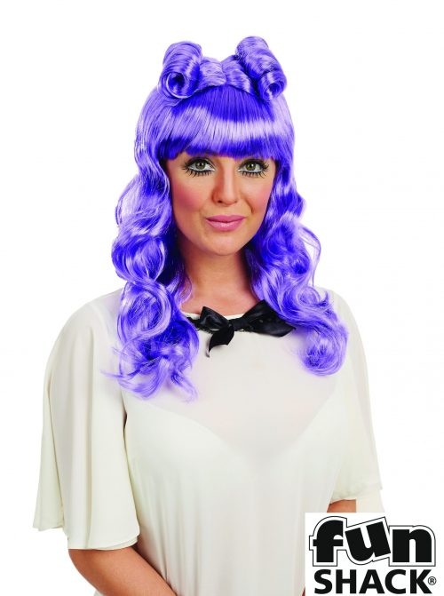 Cosplay (Katy) Wig Purple