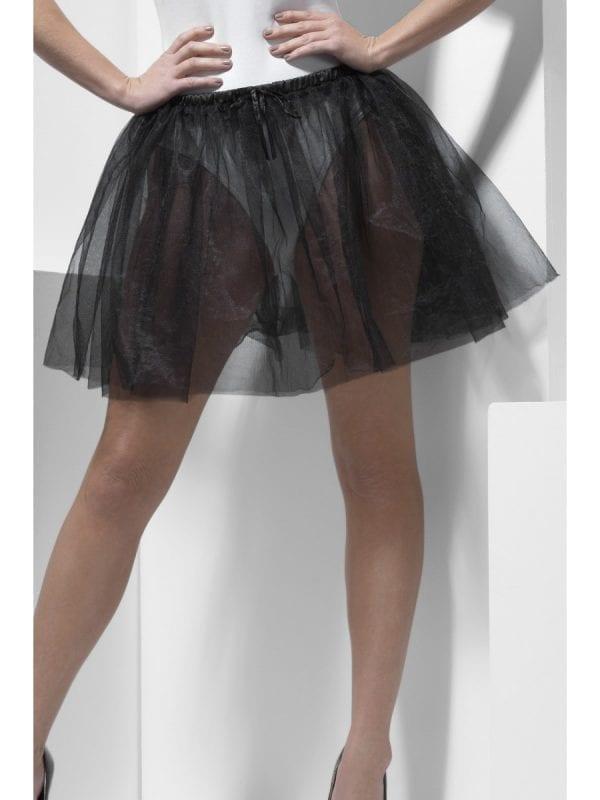 Petticoat Underskirt Black Longer Length