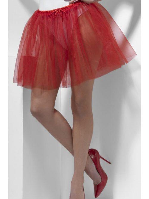 Petticoat Underskirt Red Longer Length