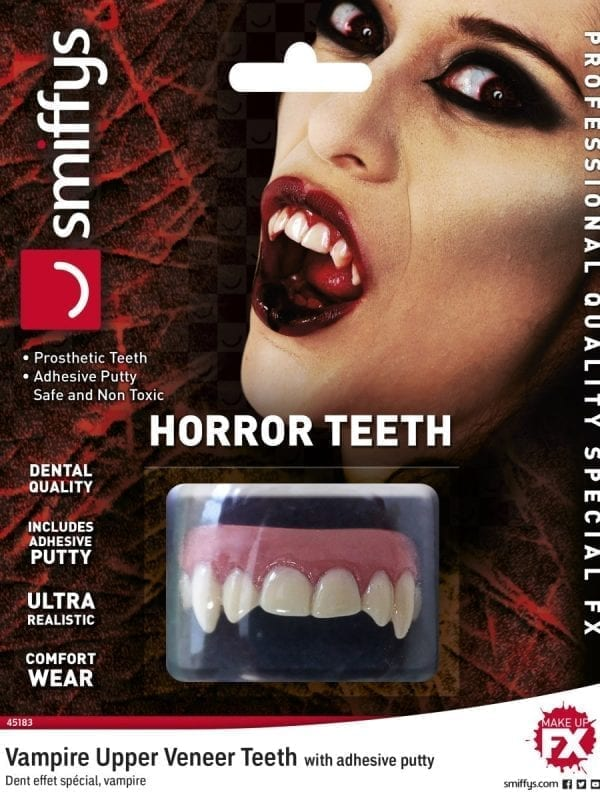 Teeth FX, Vampire, with Upper Veneer Teeth