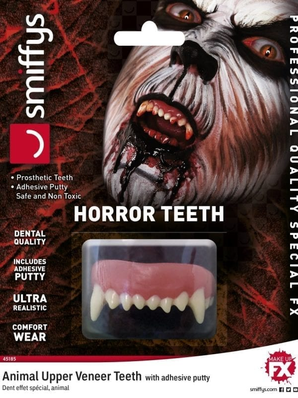 Teeth FX, Animal, with Upper Veneer Teeth