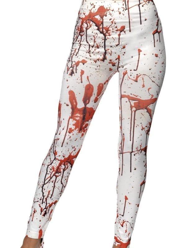 Horror Leggings Ladies Fancy Dress Costume