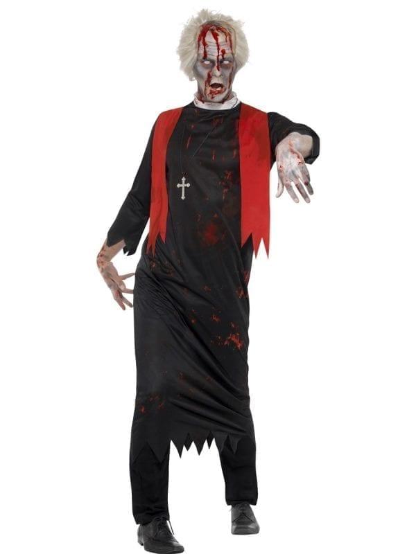 Zombie High Priest Men's Halloween Fancy Dress Costume