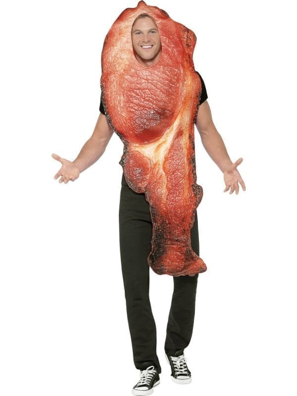 Bacon Novelty Adult Fancy Dress Costume