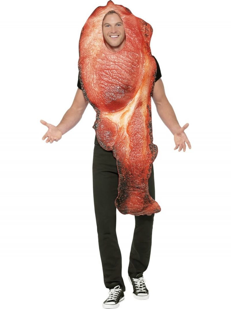 Bacon Novelty Adult Fancy Dress Costume