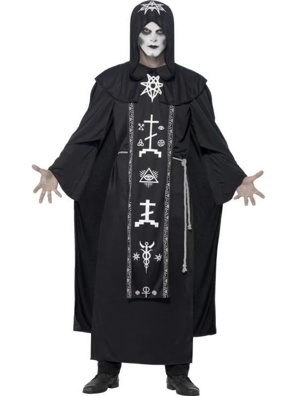 Dark Arts Ritual Men's Halloween Fancy Dress Costume