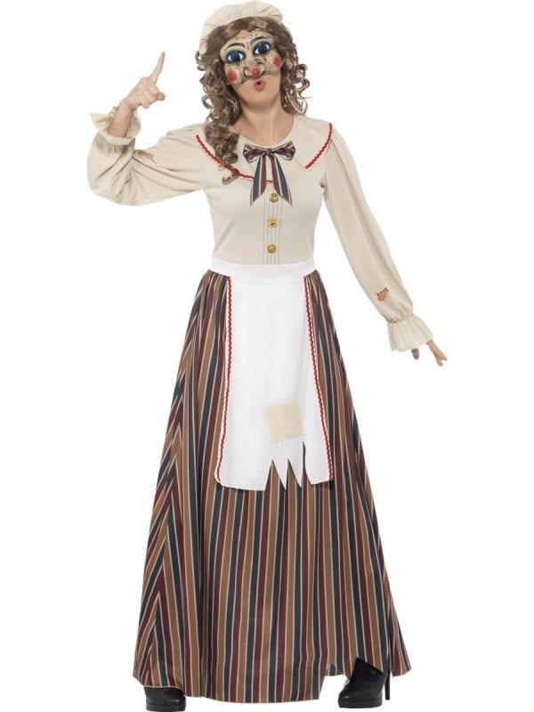 Possessed Judy Ladies Halloween Fancy Dress Costume