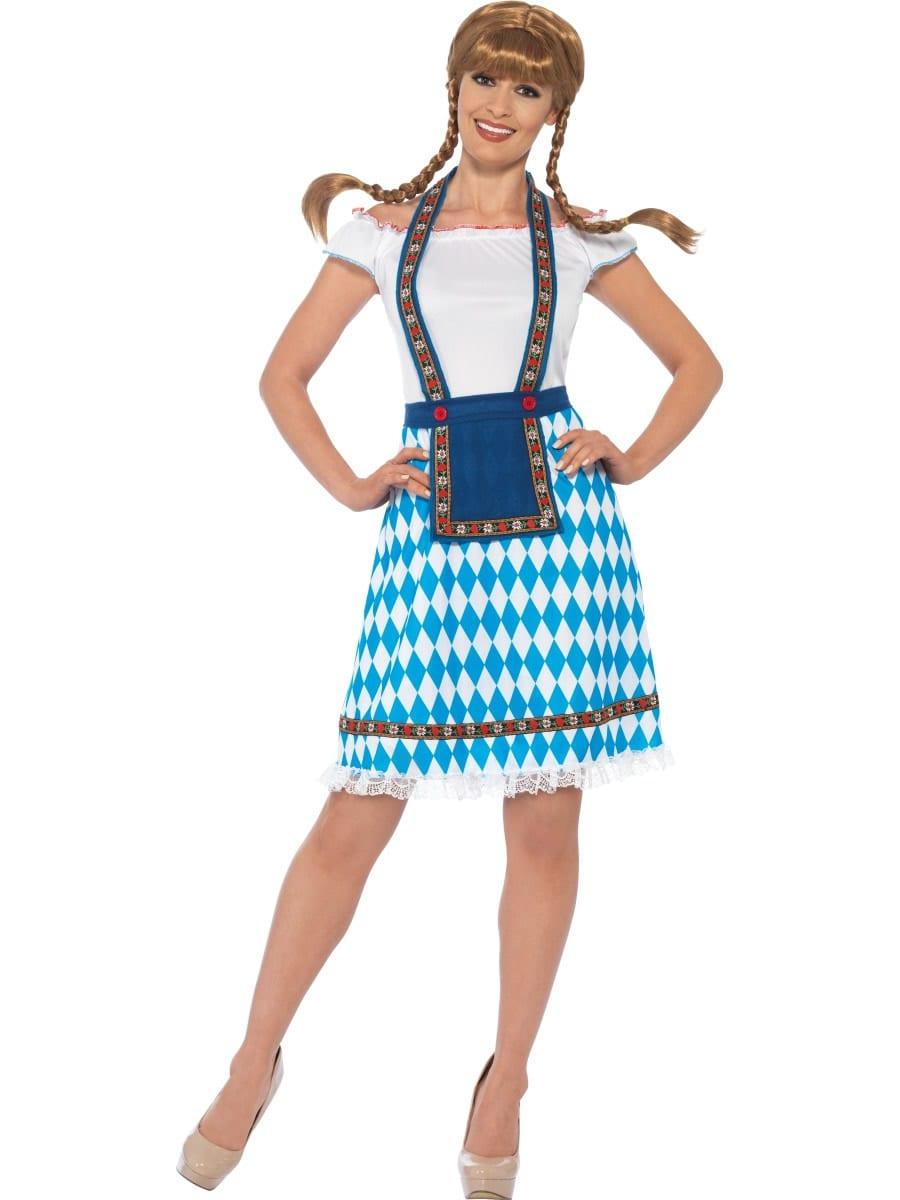 Bavarian Maid Ladies Fancy Dress Costume