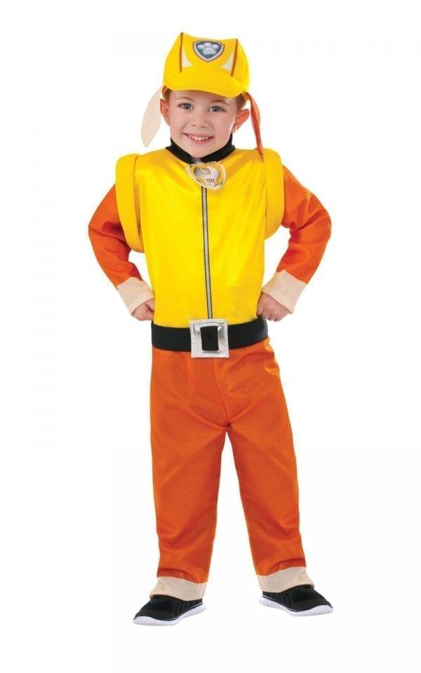 Paw Patrol Rubble Children's Fancy Dress Costume