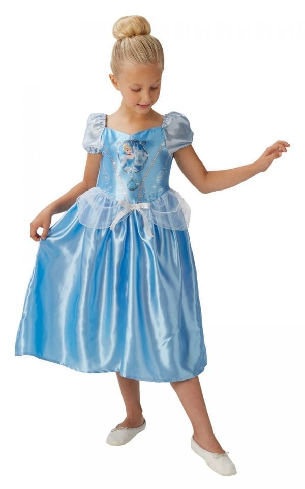 Disney Princess Fairytale Cinderella Children's Fancy Dress Costume