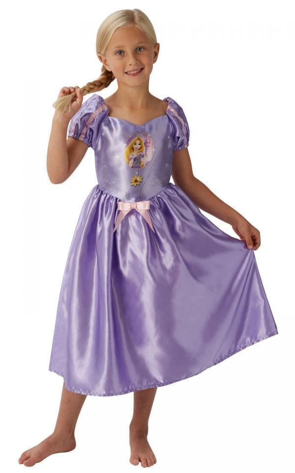 Disney Princess Fairytale Rapunzel Children's Fancy Dress Costume
