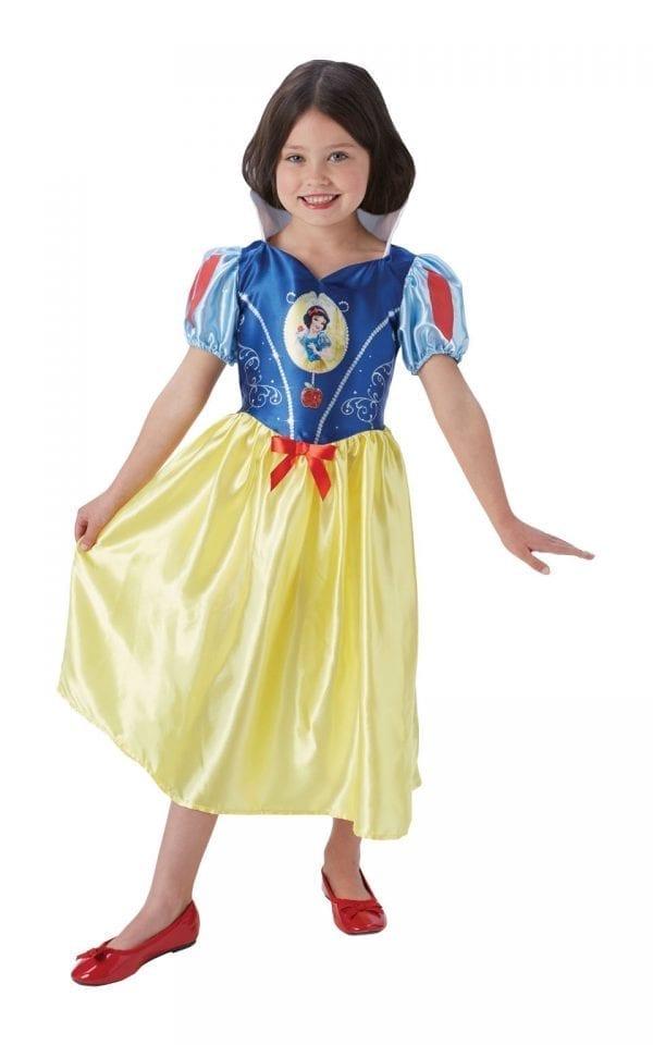 Disney Princess Fairytale Snow White Children's Fancy Dress Costume
