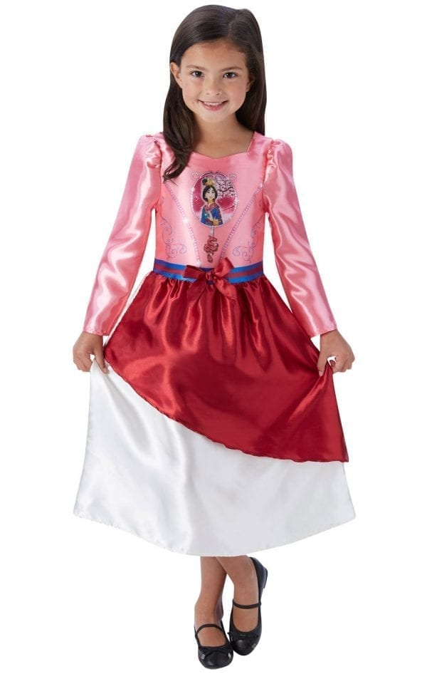 Disney Princess Fairytale Mulan Children's Fancy Dress Costume