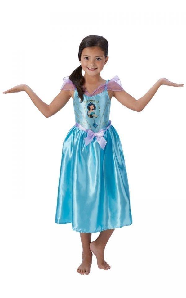 Disney Princess Fairytale Jasmine Children's Fancy Dress Costume