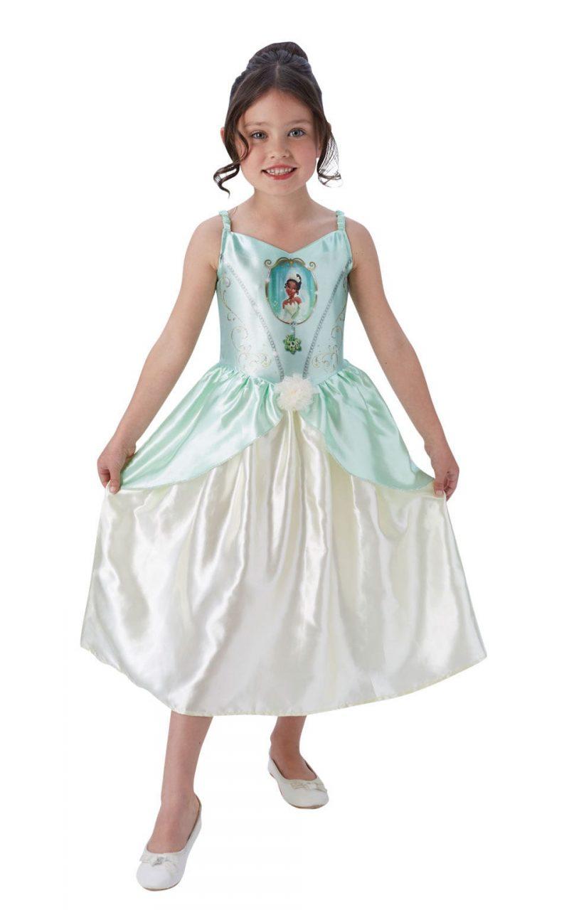 Disney Princess Fairytale Tiana Children's Fancy Dress Costume