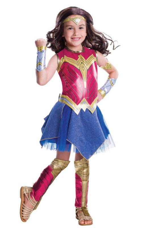 Batman v Superman Dawn of Justice Wonder Woman Children's Fancy Dress Costume