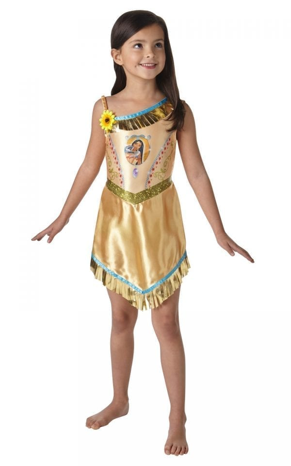 Disney Princess Fairytale Pocahontas Children's Fancy Dress Costume