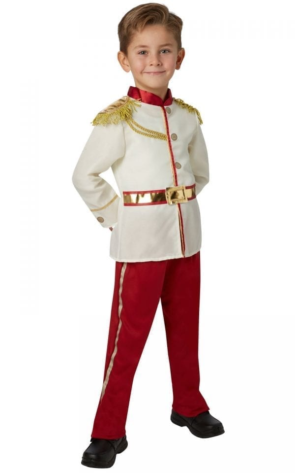 Prince Charming Children's Fancy Dress Costume