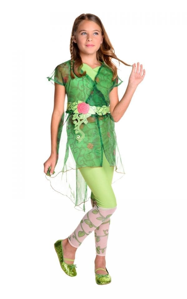 Poison Ivy Deluxe Children's Fancy Dress Costume