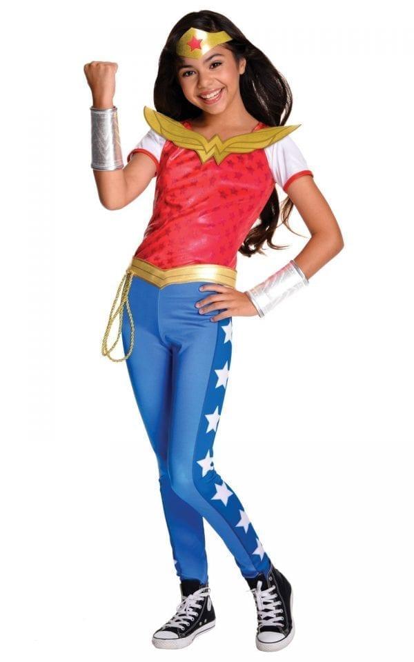 Wonder Woman Deluxe Children's Fancy Dress Costume