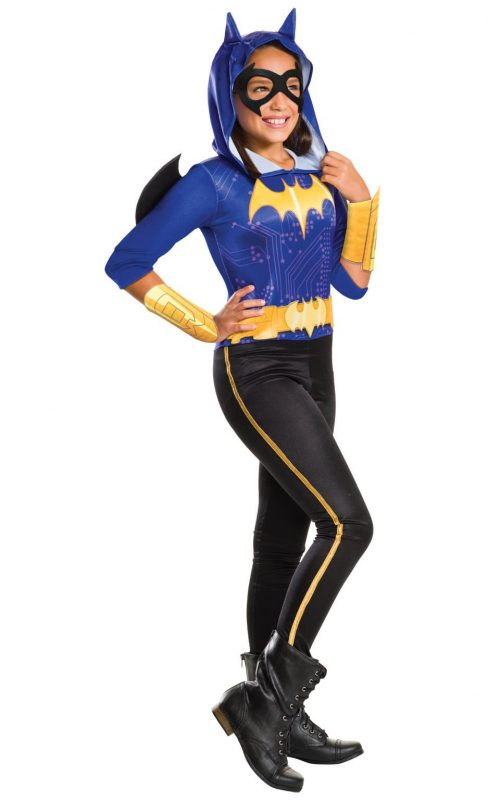 DC Super Hero Batgirl Children's Fancy Dress Costume