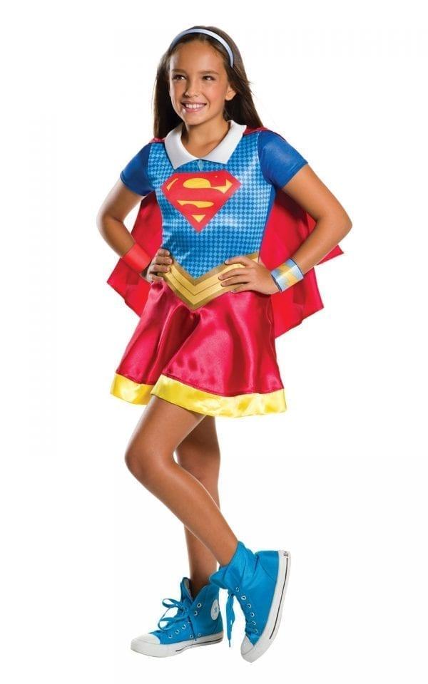 DC Super Hero Supergirl Children's Fancy Dress Costume