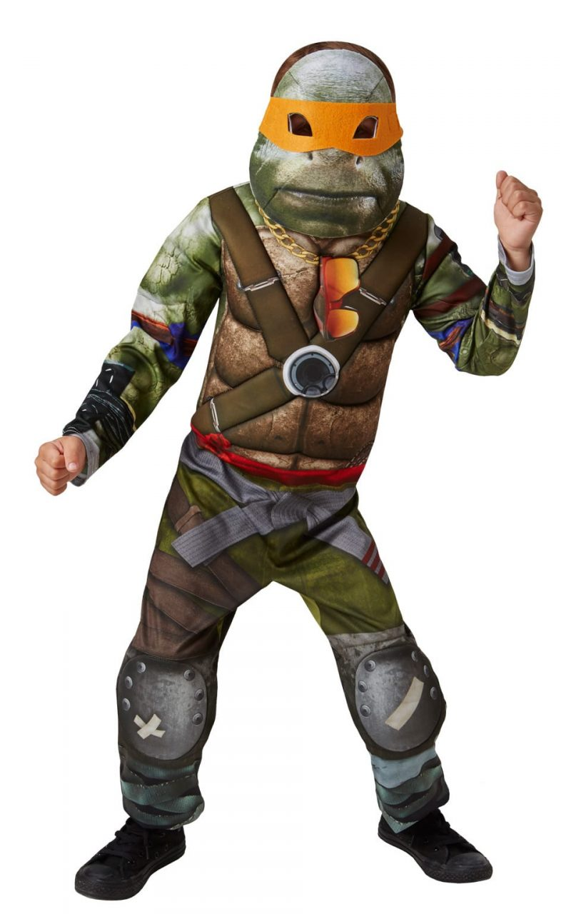 Teenage Mutant Ninja Turtles Deluxe Movie Turtle Children's Fancy Dress Costume