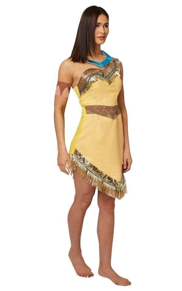 Disney Princess Pocahontas Ladies Fancy Dress Costume