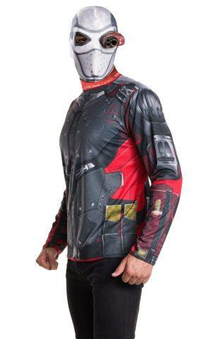 Suicide Squad Deadshot Costume Kit Men's Fancy Dress Costume