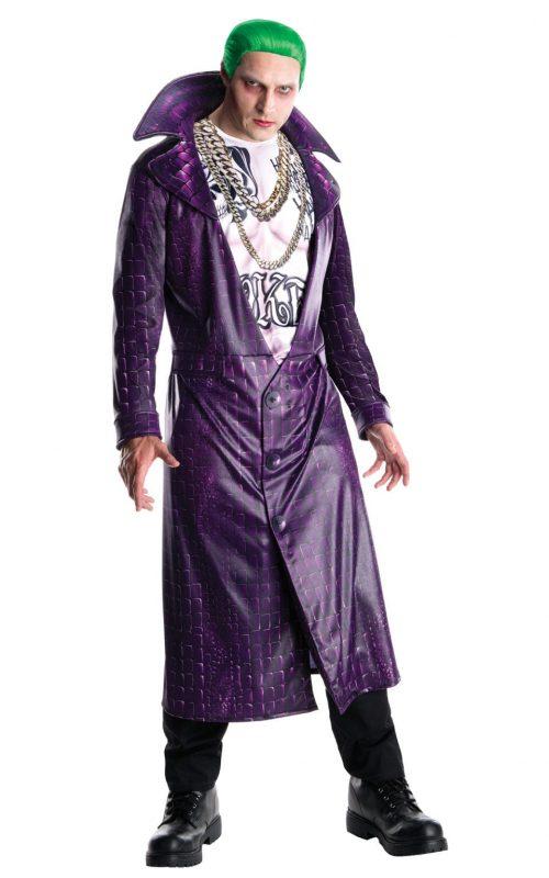 Suicide Squad The Joker Men's Fancy Dress Costume