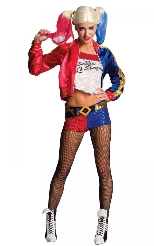 Suicide Squad Harley Quinn Ladies Fancy Dress Costume