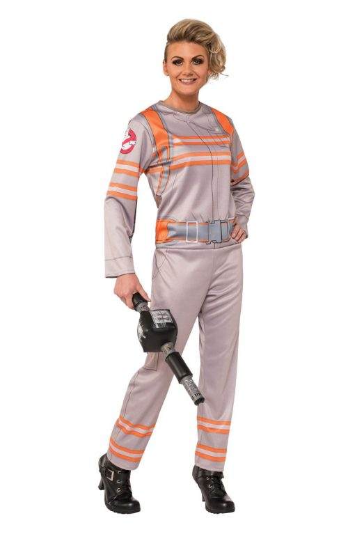 Ghostbuster's Jumpsuit Ladies Fancy Dress Costume