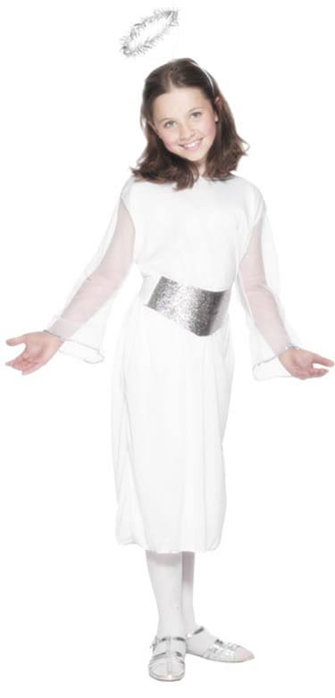Angel Childrens Christmas Fancy Dress Costume