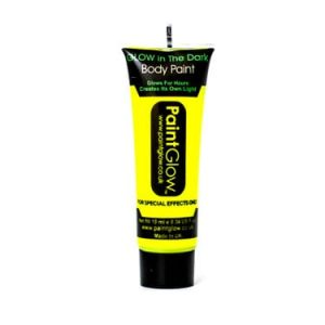 Paintglow Glo in the Dark Face & Body Paint Yellow