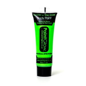 Paintglow Glo in the Dark Face & Body Paint Green
