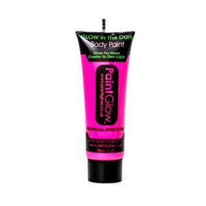 Paintglow Glo in the Dark Face & Body Paint Pink