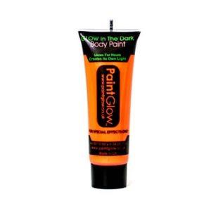 Paintglow Glo in the Dark Face & Body Paint Orange